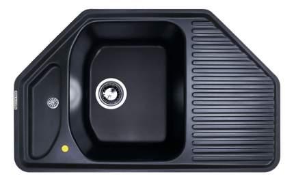 Мойка для кухни гранитная Zigmund & Shtain ZS Eckig 800 черный базальт