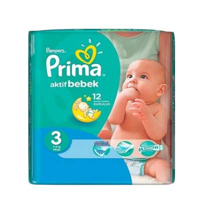 Подгузники для новорожденных Pampers Active Baby 3 (4-9 кг), 29 шт.