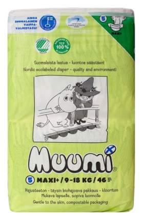 Подгузники Muumi Maxi+ 5 (9-18 кг), 46 шт.