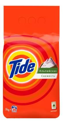 Порошок для стирки Tide альпийская свежесть 3 кг