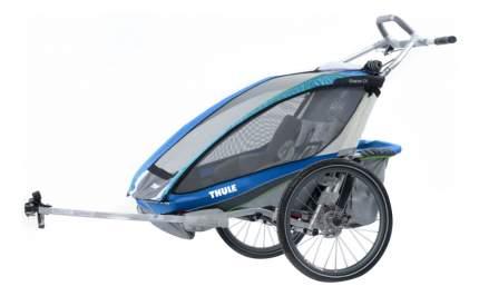 Коляска-велоприцеп Thule для двойни Chariot CX-2 синяя