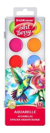 Акварель ErichKrause Art berry с УФ защитой 12 цветов