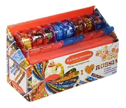 Наклейка декоративная для детской комнаты Origami Клейкие ленточки - Я люблю Россию