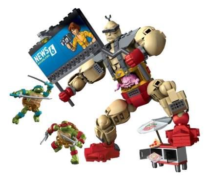 Конструктор пластиковый Mattel inc Mega Bloks Яростная вспышка Кранга