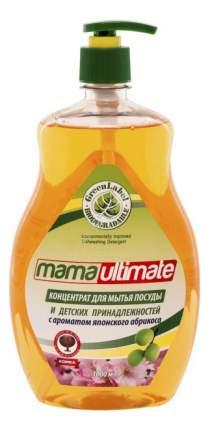 Средство для мытья посуды Mama ultimate японский абрикос 1 л