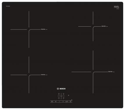 Встраиваемая варочная панель индукционная Bosch PUE611BB1E Black