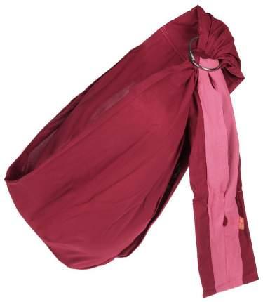 Слинг Чудо-Чадо Бабочка Бордовый Размер M (48-54)
