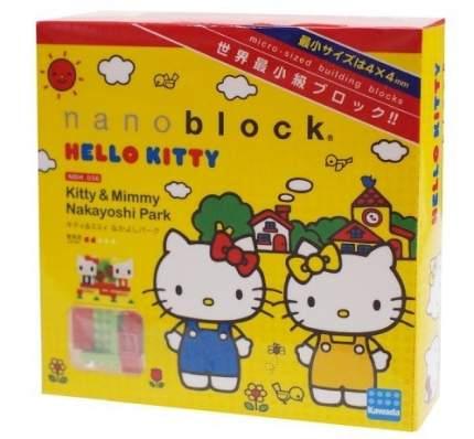 Конструктор NANOBLOCK Hello Kitty и Mimmy в парке (NBH_056)