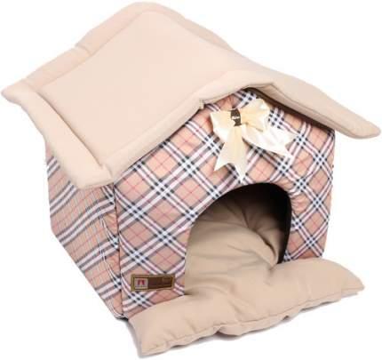 Домик для кошек и собак ЗООГУРМАН 40x45x45см бежевый