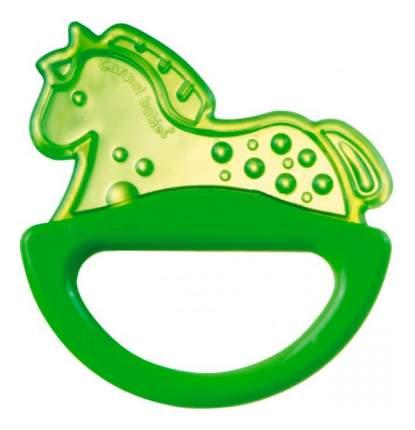 Прорезыватель-погремушка Canpol Лошадка зеленый