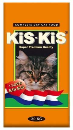 Сухой корм для кошек KiS-KiS, говядина, 20кг