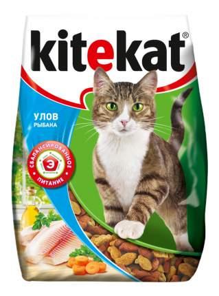 Сухой корм для кошек Kitekat, улов рыбака, 4шт, 7,6кг