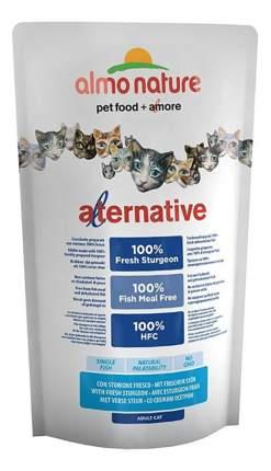 Сухой корм для кошек Almo Nature Alternative, осетр, 0,75кг