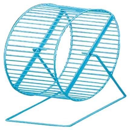 Беговое колесо для грызунов Triol WL03, голубой, фиолетовый, металл, 22,5см