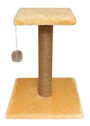 Когтеточка Гамма Стойка №6 с полочкой, игрушкой для кошек