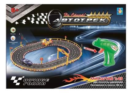 Автотрек 1Toy Ночные гонки