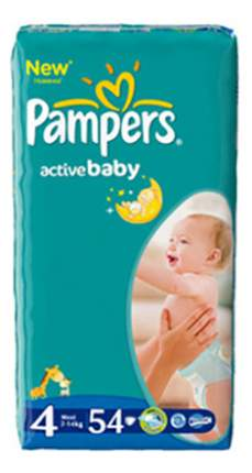 Подгузники Pampers Pampers Active Baby (7-14 кг), 54 шт.