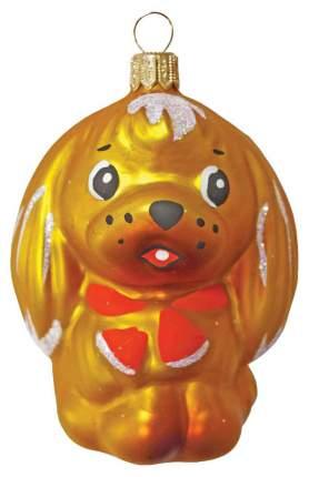 Елочная игрушка Элита Собачка 8 см