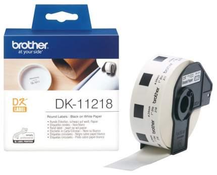 Набор наклеек Brother DK-11218 Белый
