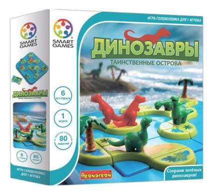 Логическая игра Bondibon Динозавры. Таинственные острова