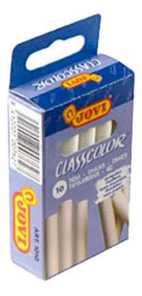 Набор мелков Jovi Classcolor 10 шт. белые