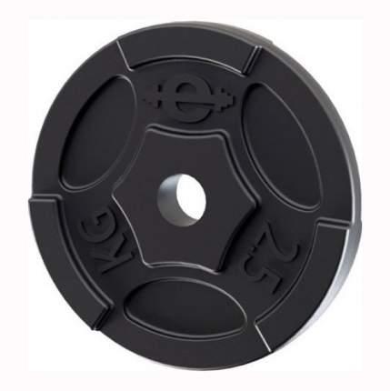 Диск для штанги Euroclassic d-26-2,5 2,5 кг, 26 мм