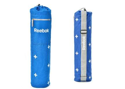 Сумка для йога-коврика Reebok Yoga Tube Bag 70 см голубая