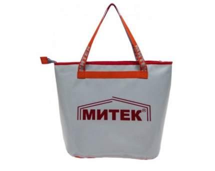 Рыболовная сумка Митек без крышки 40 x 20 x 40 белая/оранжевая