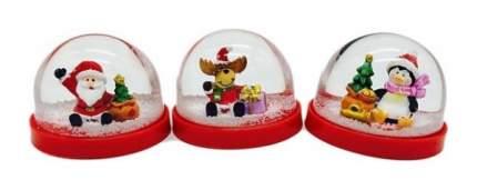 Снежный шар Новогодняя сказка Дед Мороз 7,5x5,5 см 972997