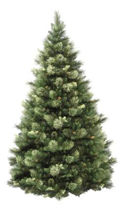 Сосна искусственная National Tree Company каролина с шишками и лампами 152 см