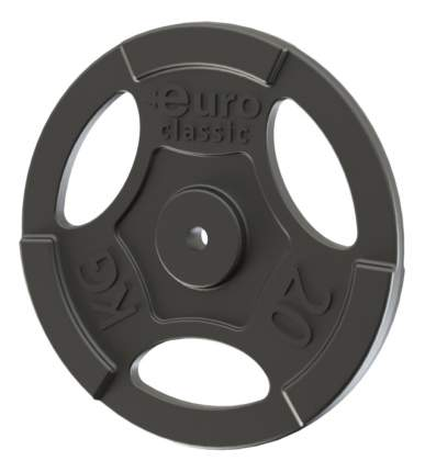Диск для штанги Record Euro-classic 20kg 20 кг, 26 мм