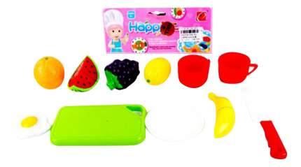 Набор фруктов игрушечный Shantou Gepai Фрукты с посудой