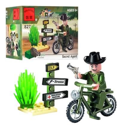 Конструктор пластиковый Brick Мотоцикл с аксессуарами