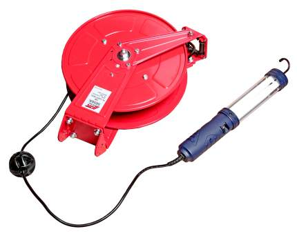 Удлинитель со светильником на катушке с заземлением, провод 2см, длина 15м JTC /1