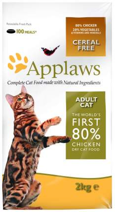 Сухой корм для кошек Applaws Adult Grain Free, курица, 2кг