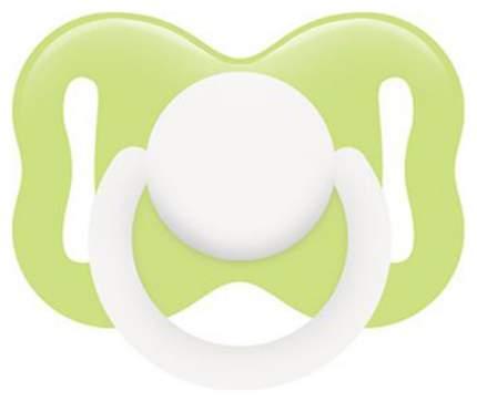 Соска-пустышка Lubby латекс Круглая (с 0 мес)