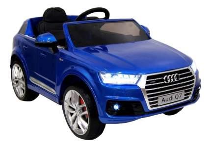 Электромобиль Audi Q7 Quattro синий глянец RIVERTOYS