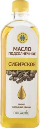Масло подсолнечное нерафинированное Компас здоровья сибирское холодный отжим 500 мл
