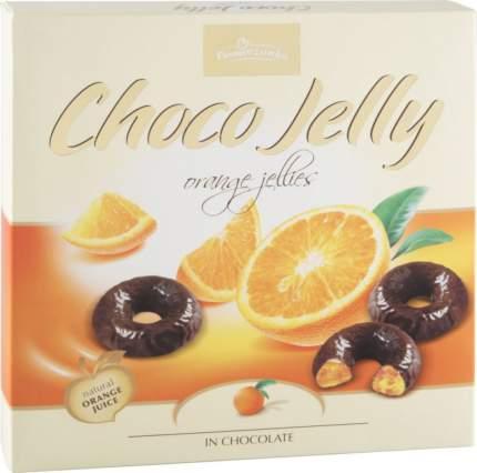 Желе в темном шоколаде Pomorzanka choco jelly апельсиновое 175 г