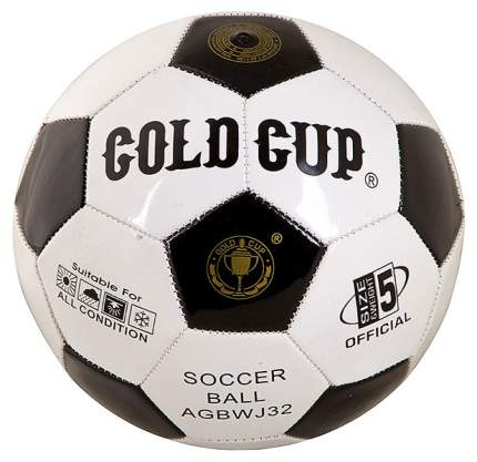 Футбольный мяч Gratwest Official Gold Cup Т18134 №5 white/black