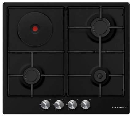Встраиваемая варочная панель комбинированная MAUNFELD CEHE.64.3EB/KG Black