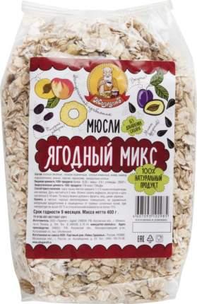 Мюсли Жизнелюб ягодный микс 400 г