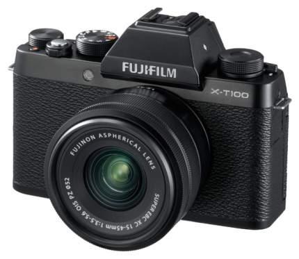 Фотоаппарат системный FUJIFILM FX-T100B 15-45 KIT Black