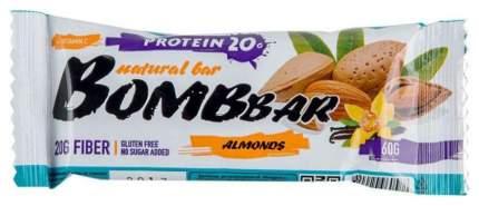 Протеиновый батончик Bombbar Protein Bar 60 г миндаль