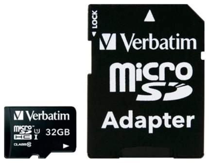 Карта памяти Verbatim Micro SDHC 44083 32GB