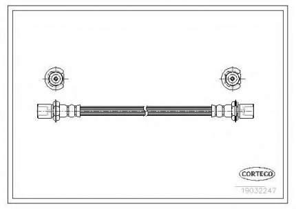 Шланг тормозной системы Corteco 19032247