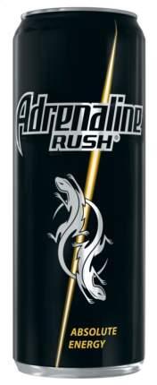 Энергетический напиток Adrenaline Rush безалкогольный газированный жестяная банка 0.5 л