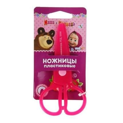 Ножницы пластиковые Маша и Медведь