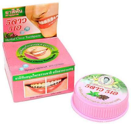 Травяная отбеливающая зубная паста с экстрактом листьев Гуавы и Гвоздикой