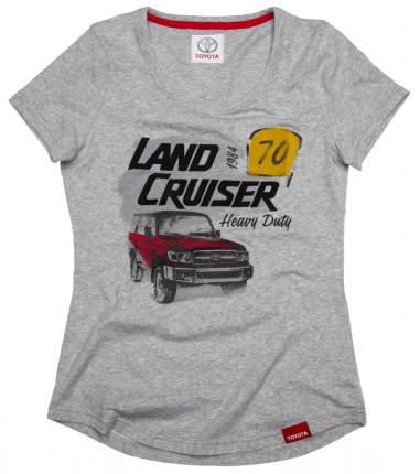 Женская футболка Toyota Land Cruiser 70 TMHRTTCL02XS Grey